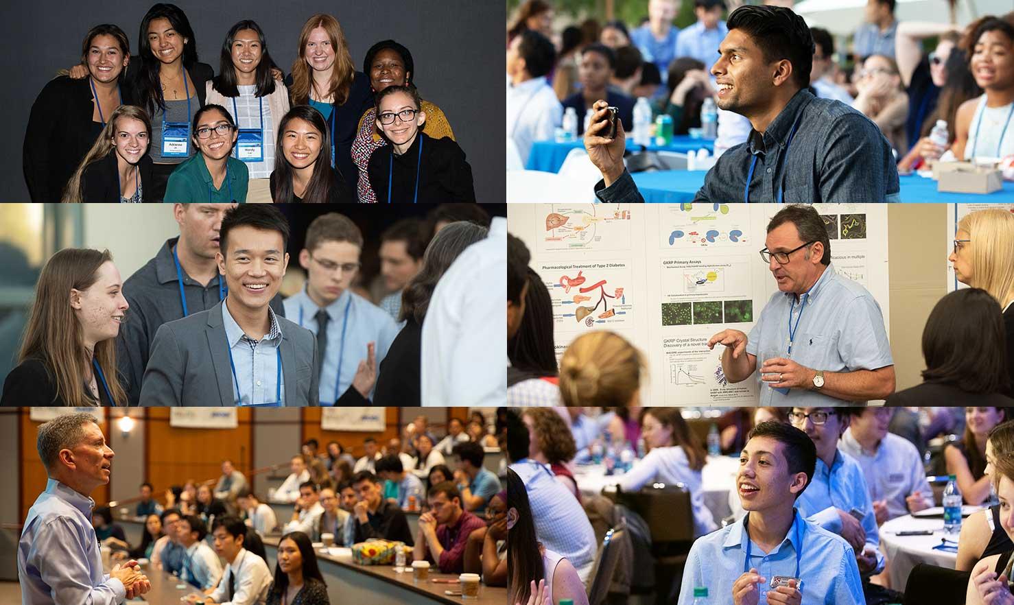 symposium collage
