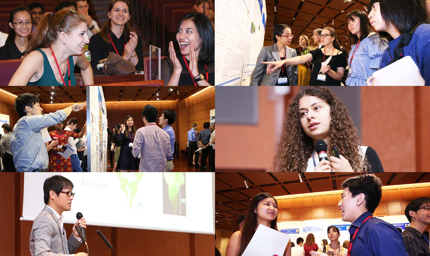 symposium collage
